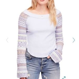 Nwt, Free People thermal sweater